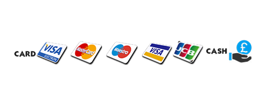 Payment Methods that we accept is CARD ON COLLECTION